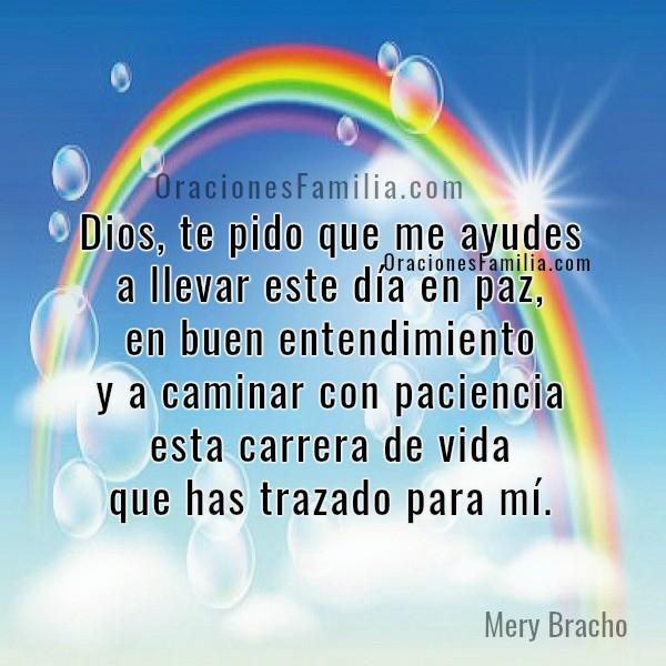 Frases con oraciones de buenos días, plegaria para iniciar la mañana con bendición de Dios, oración de la mañana, gracias a Dios por este día, oraciones por Mery Bracho.