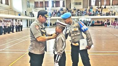 Kapolres Limapuluh Kota Buka Lomba Polisi Cilik