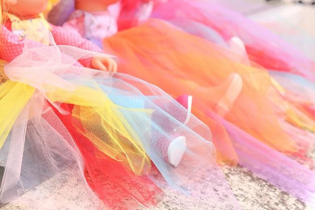fabriquer jupe pour poupee corolle