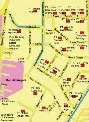 Contoh penentuan lokasi industri di Pulo Gadung