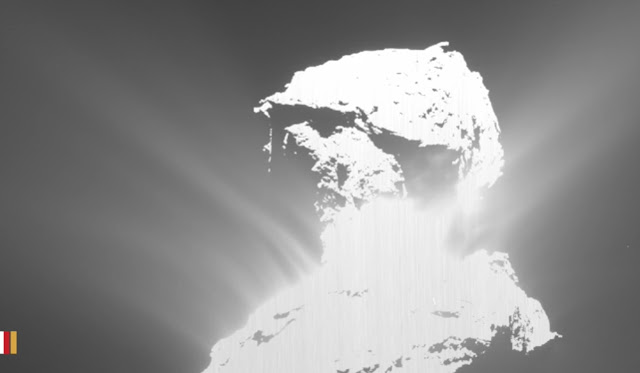 Rosetta Witnesses Turbulent Comet Outburst