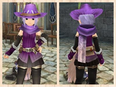 マジックマフラー 紫1