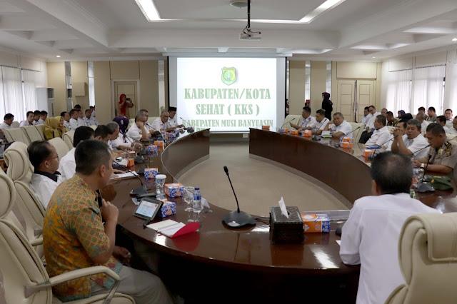 Musi Banyuasin Siap Menuju Kabupaten Sehat