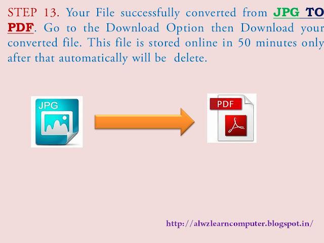 how to convert jpg to pdf offline