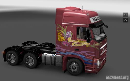Flower Connection Volvo Skin