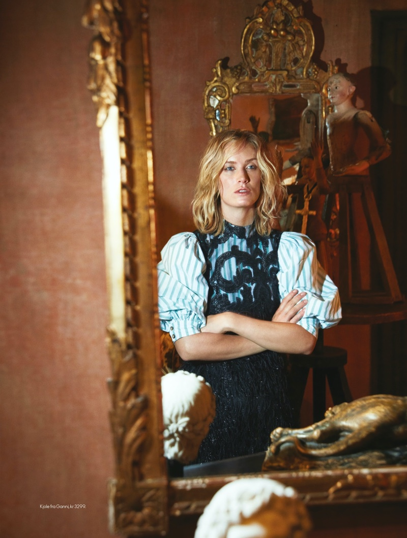 Aleksandra Orbeck Nilssen - Elle Norway December 2019
