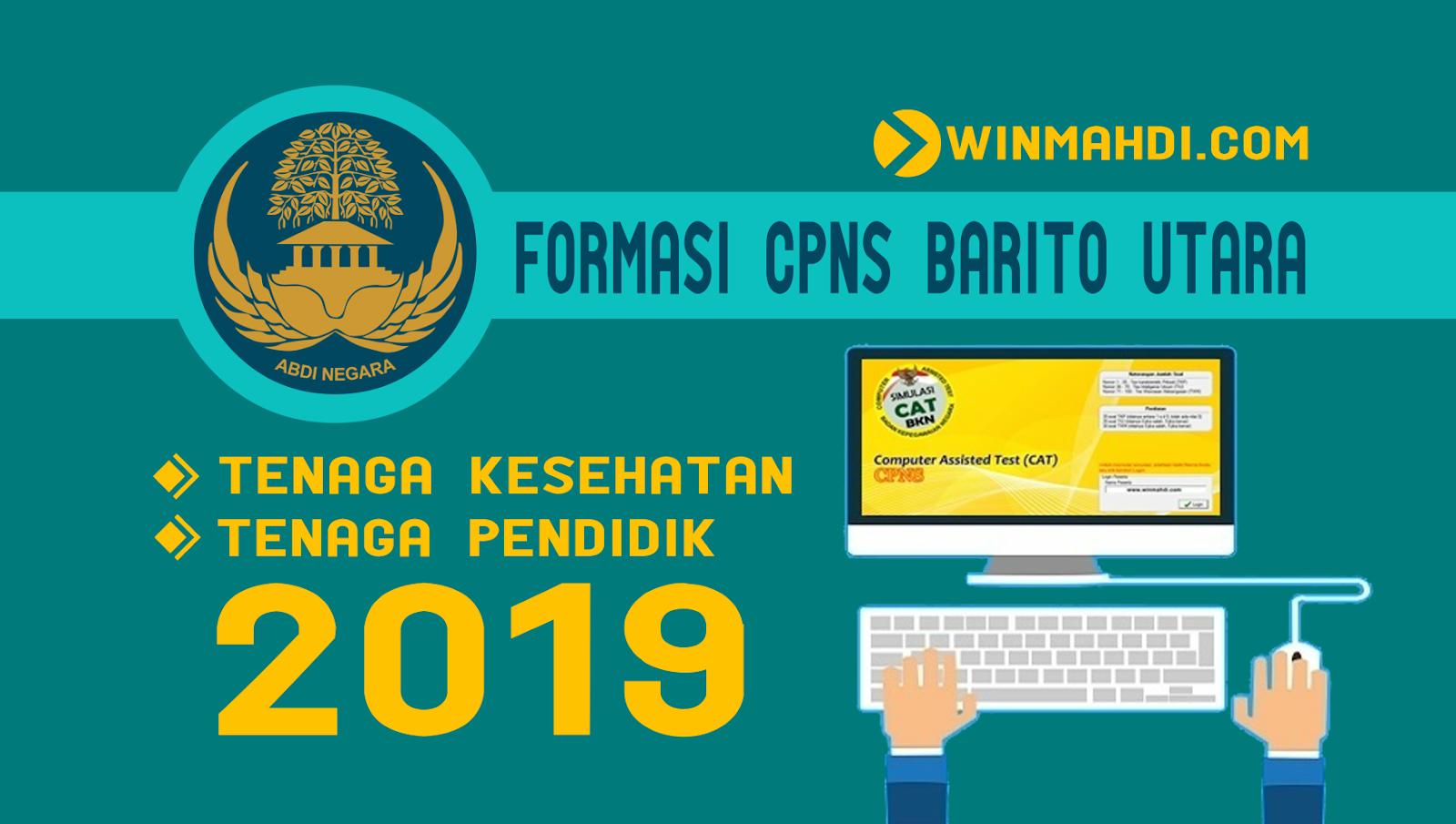 Daftar Formasi CPNS Barito Utara 2019