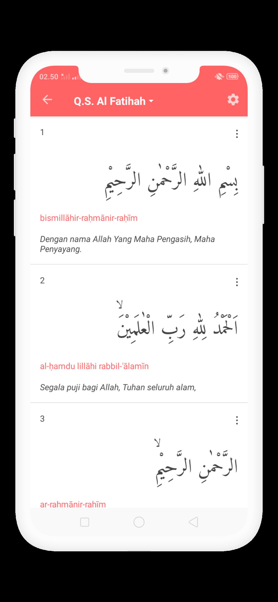 Al Quran dan Terjemahan Indonesia Offline