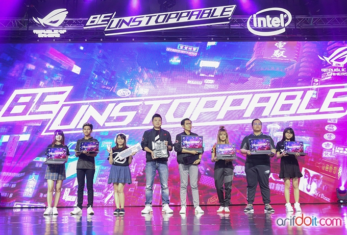 "Be Unstoppable "" Parade Laptop Gaming Paling Ringan, Compact, Revolusioner dan The Beast Dari Asus ROG """