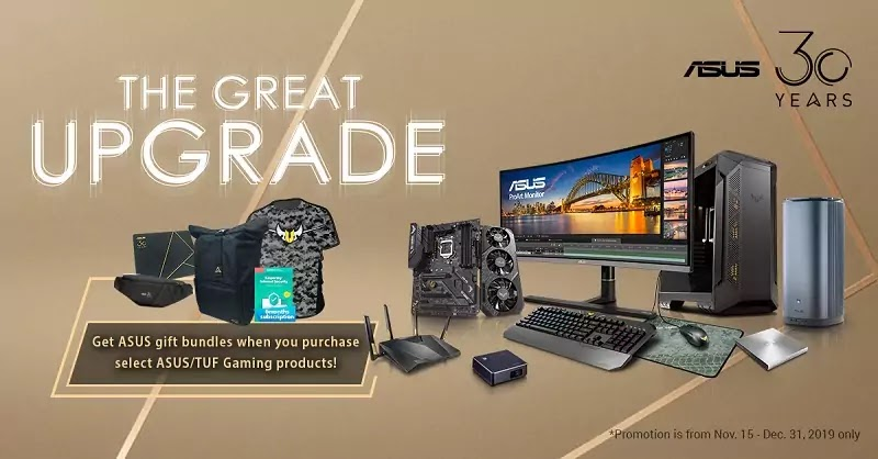 ASUS-The Great Upgrade