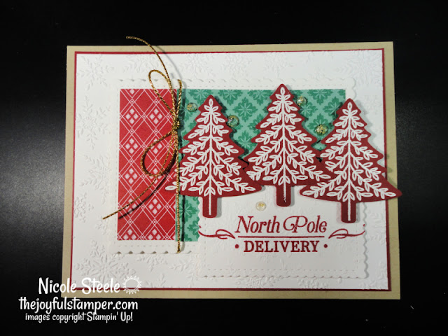 perfectly plaid, christmas cards, stamp kits, online stamp classes, stamp class at home, learn to stamp, learn to make cards, stampin' up, nicole steele, independent stampin' up! demonstrator, the joyful stamper