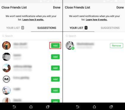 cara menambah orang ke daftar teman dekat instagram