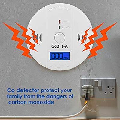 Carbon Monoxide (CO) Digital Monitor with Alarm
