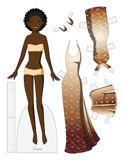 Ava - Fashion Friday Paper Doll