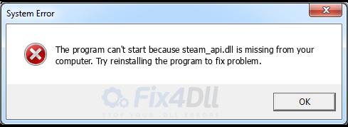 steam_api dll تحميل ملف