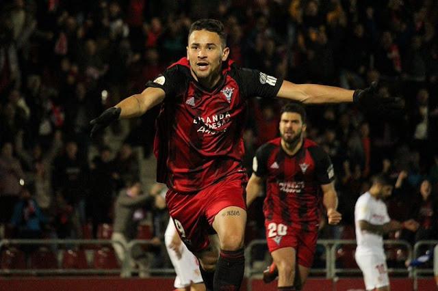 Crónica Mirandés 3 - Sevilla FC 1