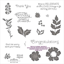 Stampin' Up! Everything is Rosy stamp set