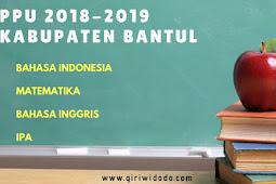Peringkat PPU Bantul Tahap 1 TA 2018-2019 IPA