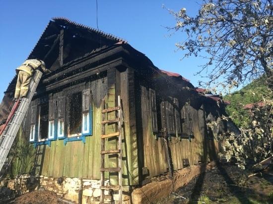 В Ишимбайском районе в пожаре погибли три человека