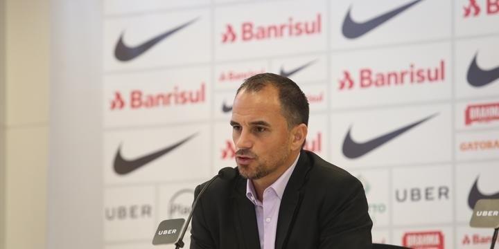 Executivo do Inter renovou recentemente o contrato (Divulgação)