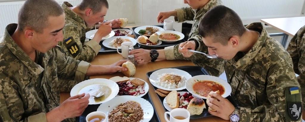 Міноборони розпочало консультації щодо закупівлі послуг харчування військових на 2022 рік