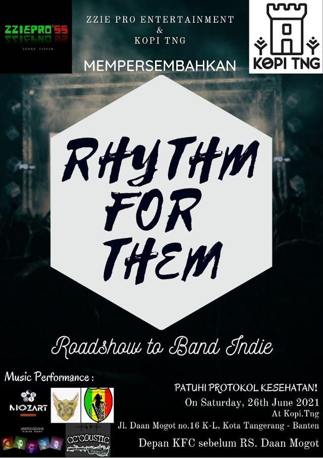 Acara Musik Rhythm for them di Kopi TNG Tangerang