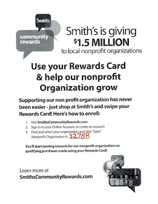 Smiths Community Rewards poster