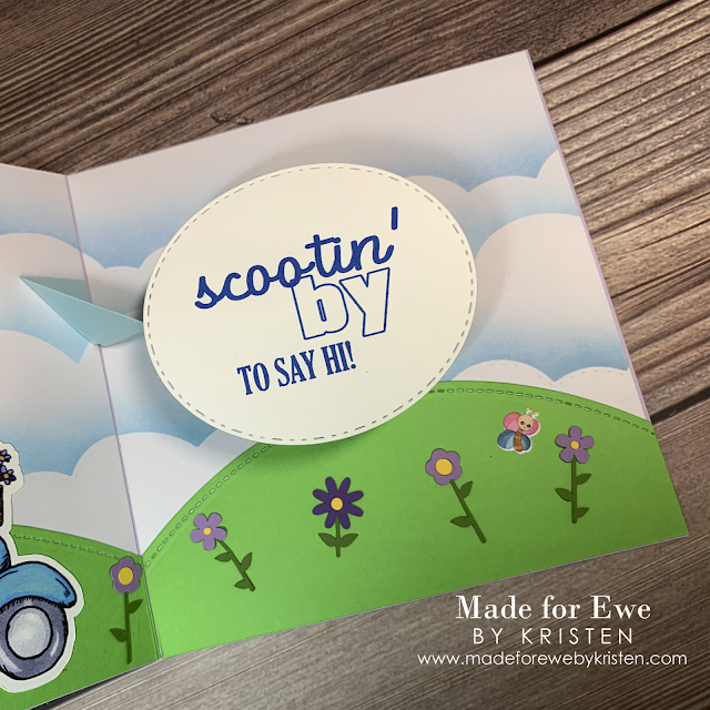 Scootin' By Sentiment