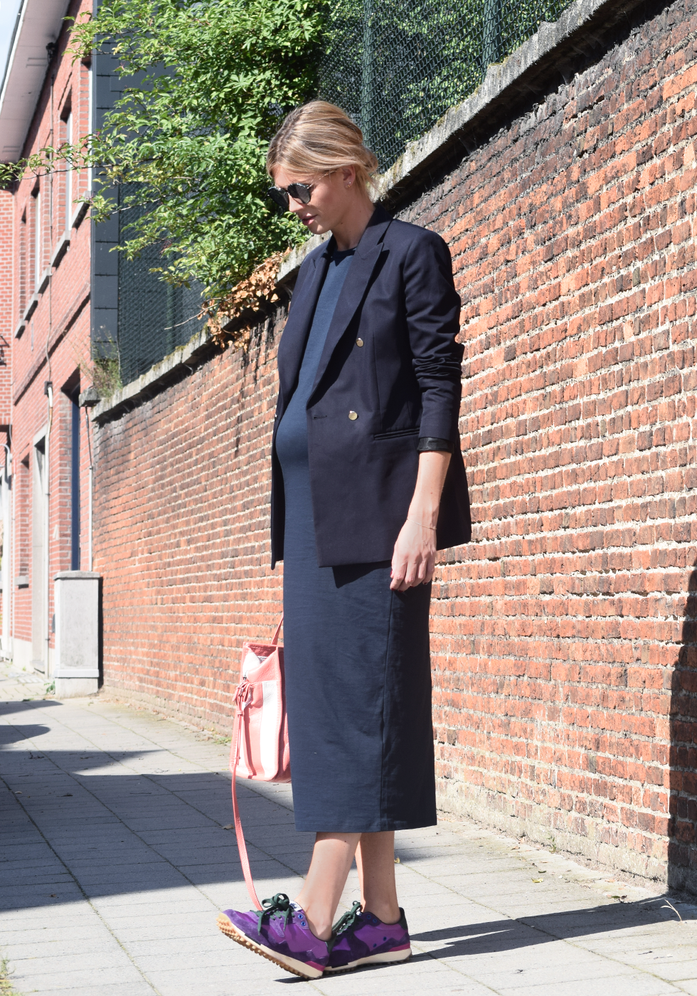 Outfit of the day, Dior, Dewolf, Max Mara, Balenciaga, Golden Goose, Marjon Snieders, Sandro, ootd, style, fashion, blogger, maternity, pregnancy, bump