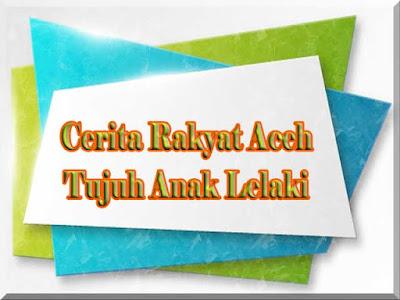 Cerita Rakyat Aceh Kisah Tujuh Anak Lelaki