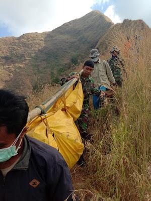 Misi Kemanusiaan, Pencarian Korban Hilang di Gunung Piramid Bondowoso