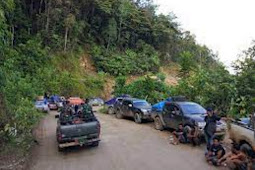 Harga Semen Melonjak Akibat Jalan Trans Wamena-Jayapura Dipalang Yalimo