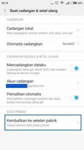 FRP Bypass Mi Account Xiaomi