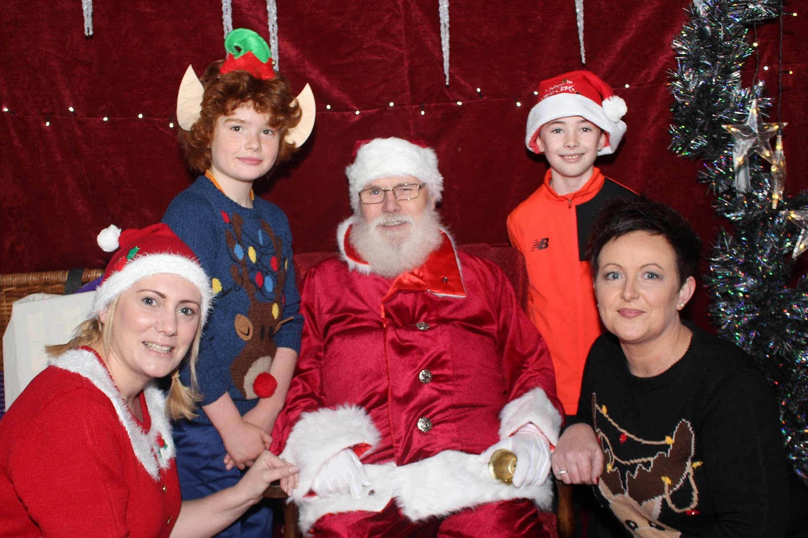 Kilcullen Diary Santa Arrives To Christmas Fair