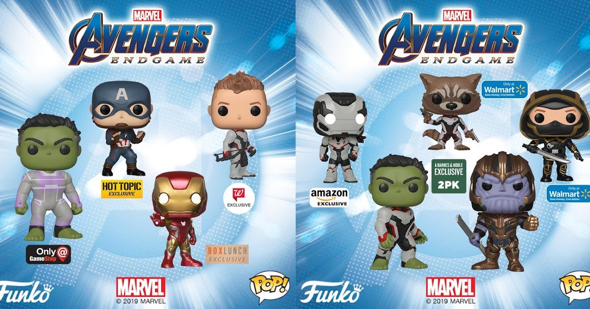 The Blot Says   : Avengers: Endgame Retailer Exclusive Pop! Marvel