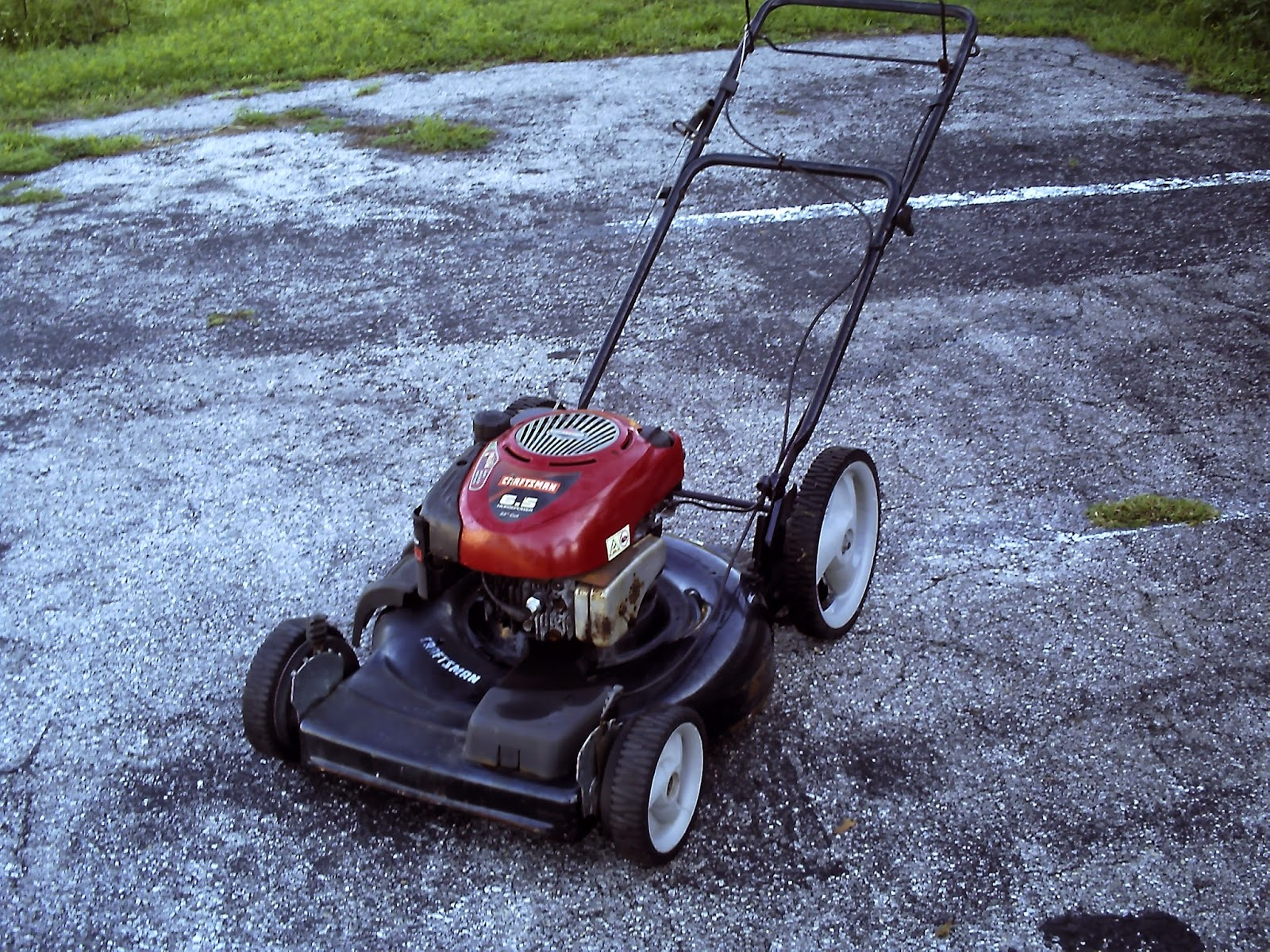 Craftsman 6 5 Hp Self Propelled Mower 250 00