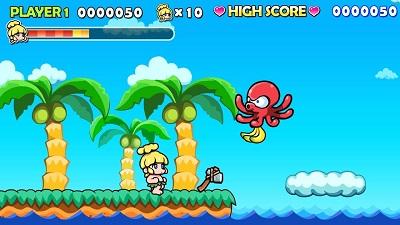 Wonder Boy Returns Review | Gameplay