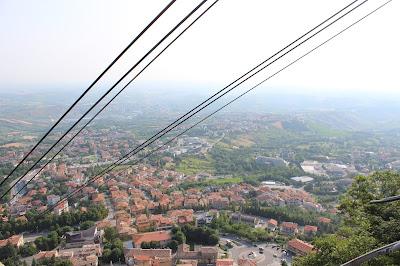 Funivia centro storico San Marino