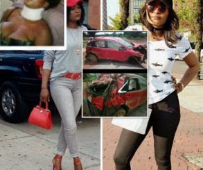 Nollywood Actress Involved In Road Accident (Photos)