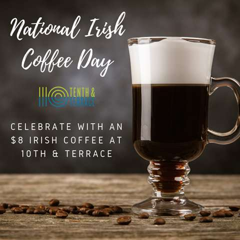 National Irish Coffee Day Wishes Beautiful Image