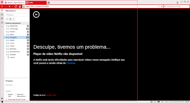 Vivaldi Netflix