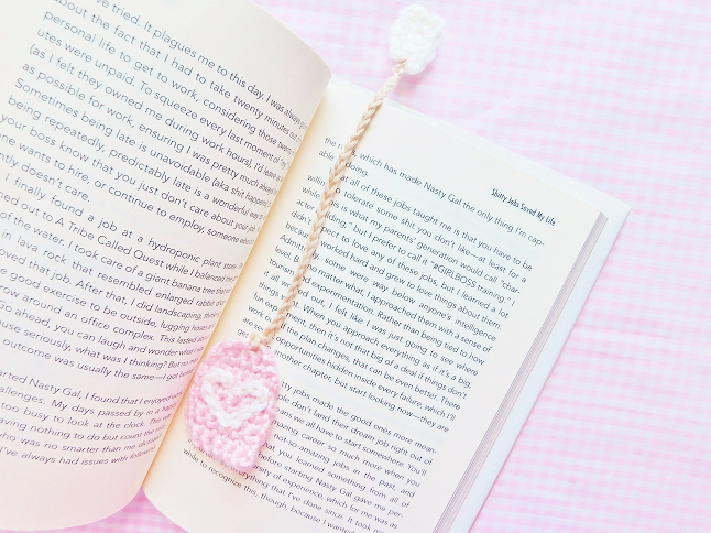Tea Bag Bookmark
