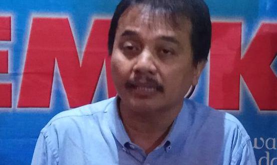 Roy Suryo Menuding, Elektabilitas Jokowi Tinggi karena Peran 'Buzzer'