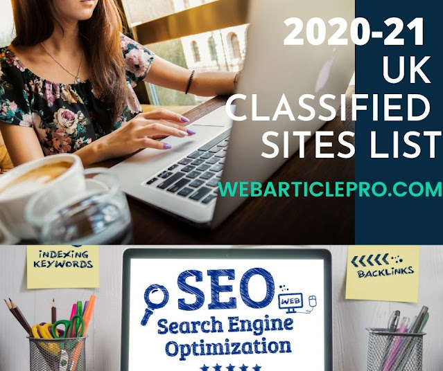 The free UK Classified Submission Sites List 2020