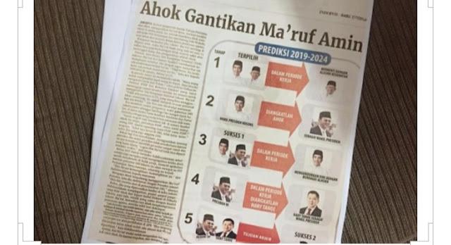 Dewan Pers Nyatakan Indopos Melanggar dalam Berita 'Ahok Gantikan Ma'ruf?'