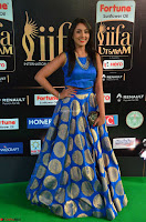 Madhu Shalini Looks Super Cute Slim trim Blue Choli Ghagra IIFA Utsavam Awards 014.JPG