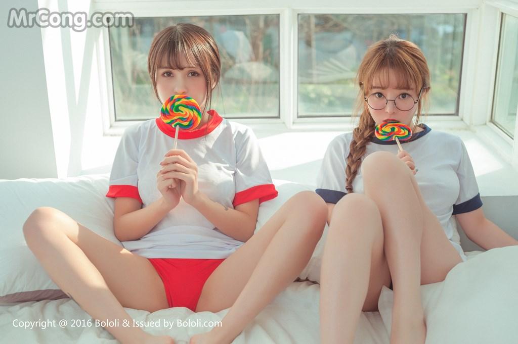 Image BoLoli-2017-04-07-Vol.042-Xia-Mei-Jiang-Liu-You-Qi-Sevenbaby-MrCong.com-009 in post BoLoli 2017-04-07 Vol.042: Người mẫu Xia Mei Jiang (夏美酱) và Liu You Qi Sevenbaby (柳侑绮Sevenbaby) (51 ảnh)