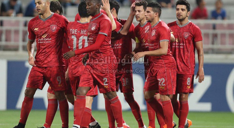 الدحيل يحقق الانتصار على فريق بيرسبوليس في دوري أبطال آسيا