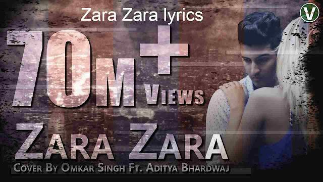 Zara Zara lyrics