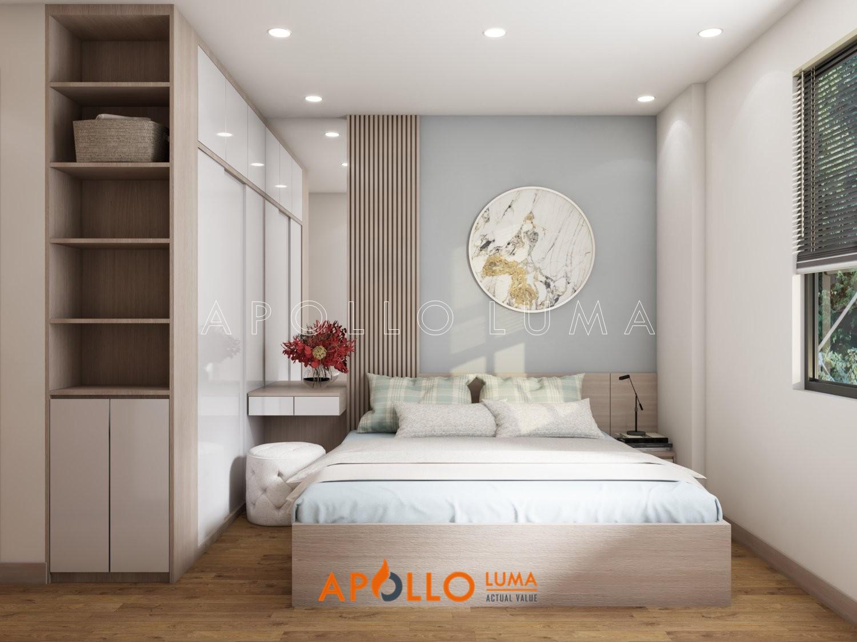 Thiết kế nội thất căn 3 phòng ngủ Bea Sky Nguyễn Xiển